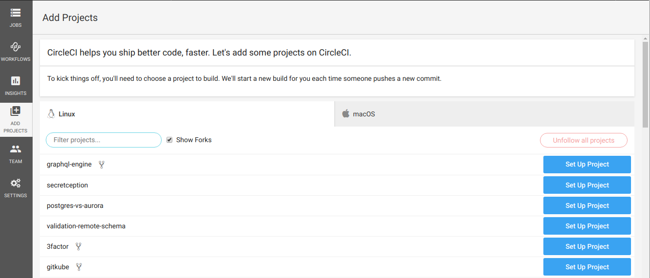 Git Push to Deploy Lambdas using CircleCI