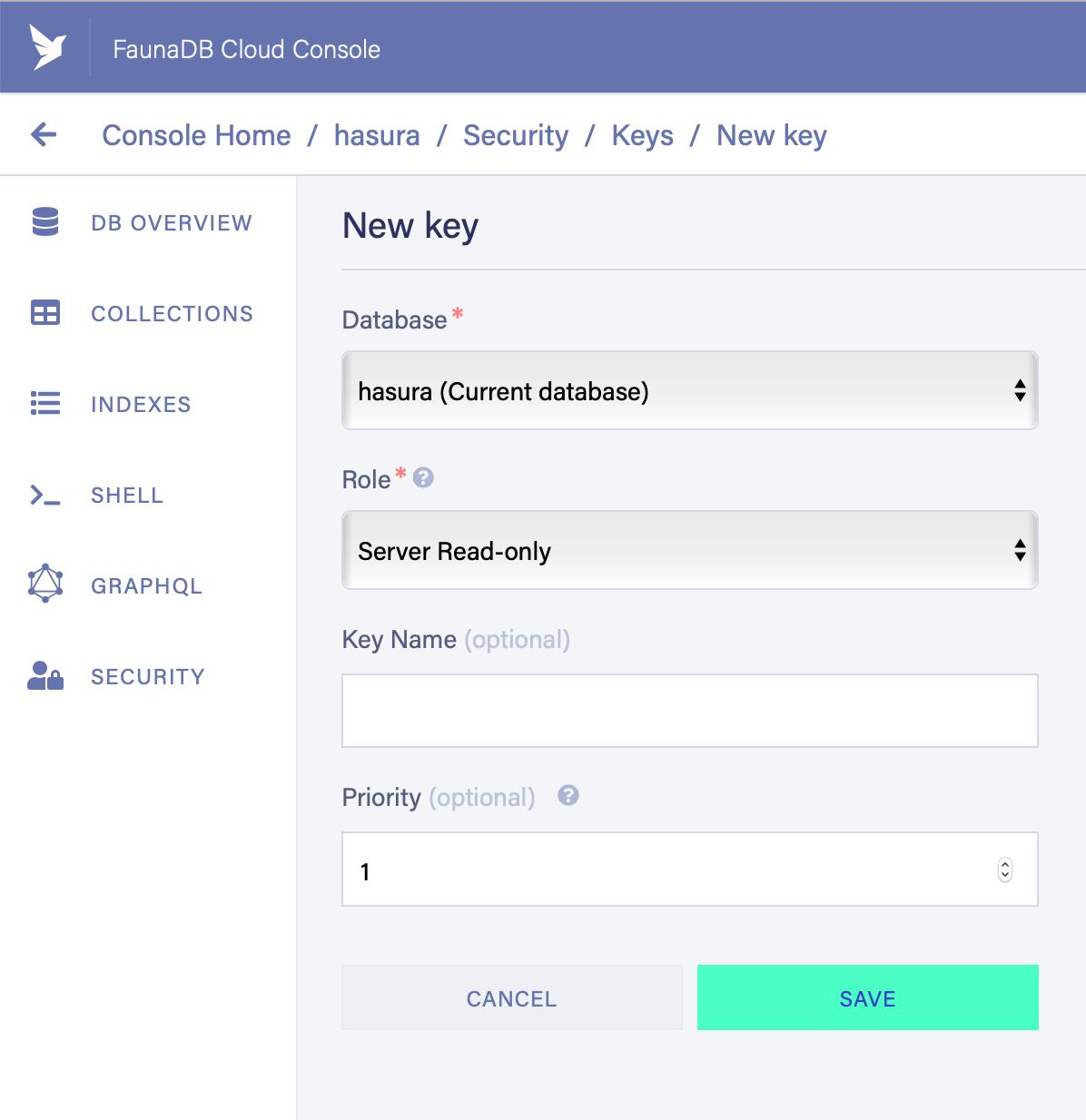 Joining Postgres Data with FaunaDB Serverless using Hasura