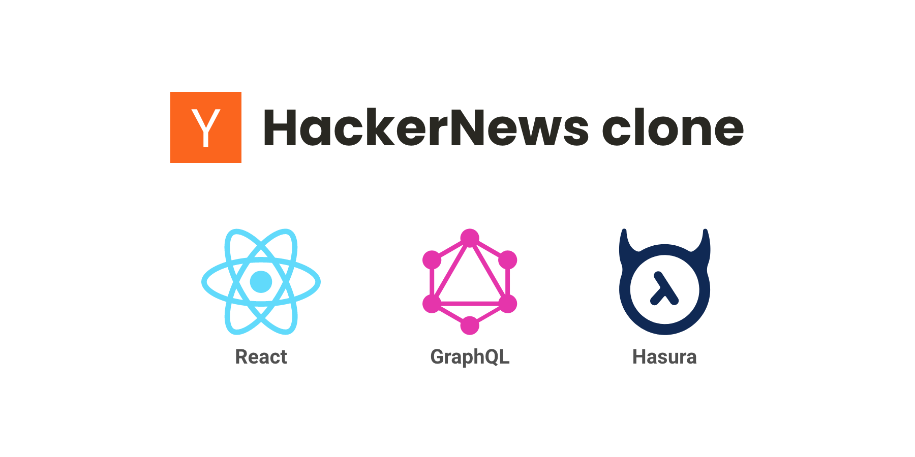 Building a Hacker News clone with GraphQL, Hasura and React