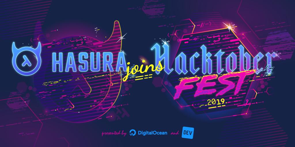 Hasura Joins Hacktoberfest 2019!