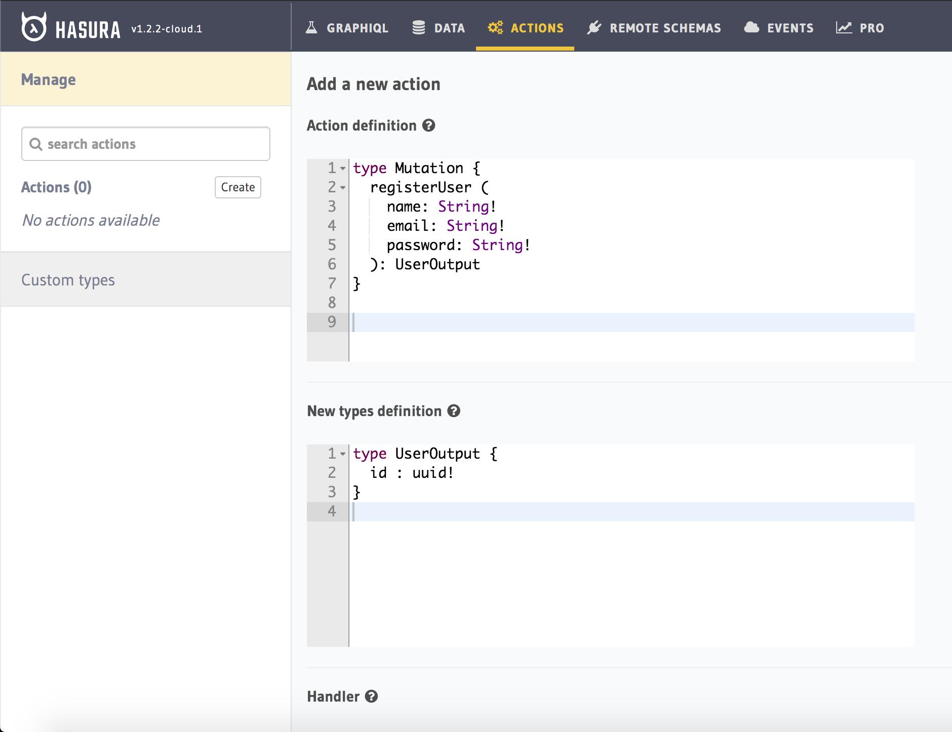 Turn your Python REST API to GraphQL using Hasura Actions