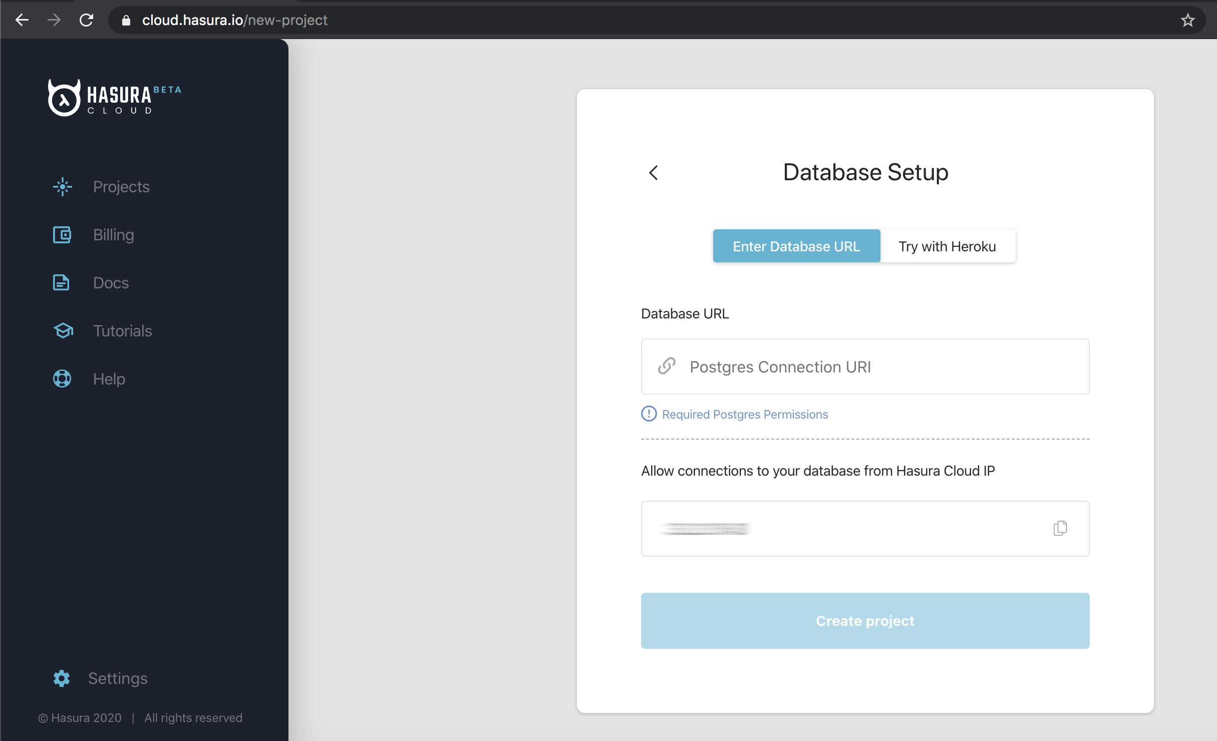 Moving from Self Hosted Hasura OSS to Hasura Cloud