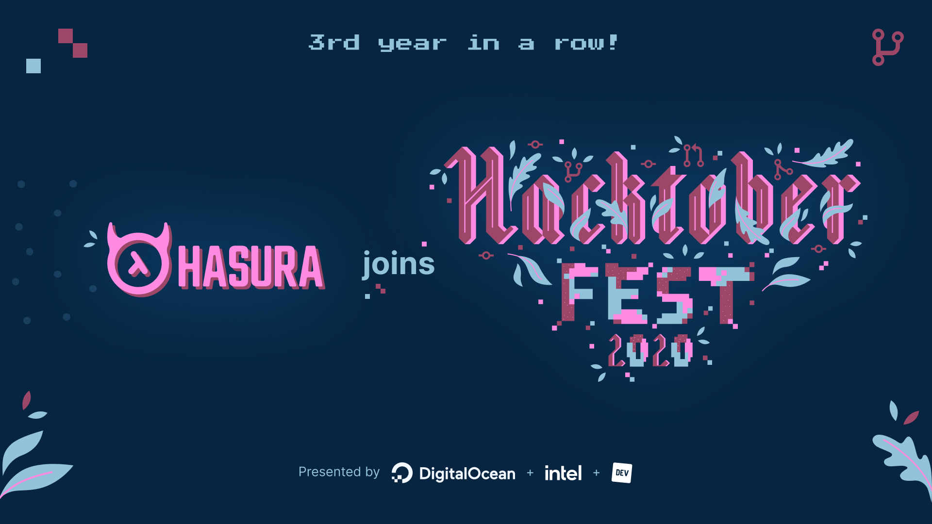 Hasura Joins Hacktoberfest: 3rd year in a row!