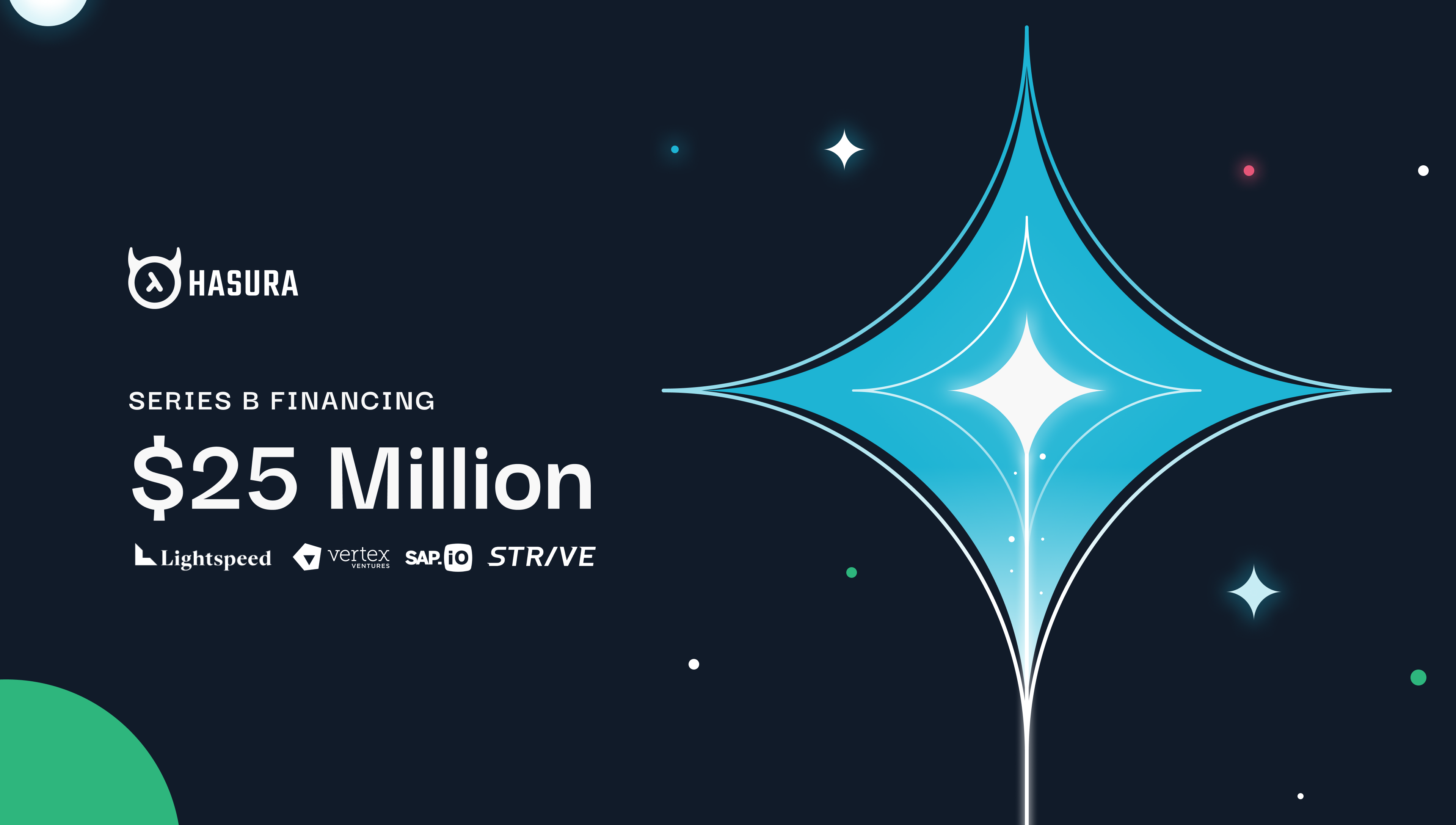 Announcing our $25M Series B financing