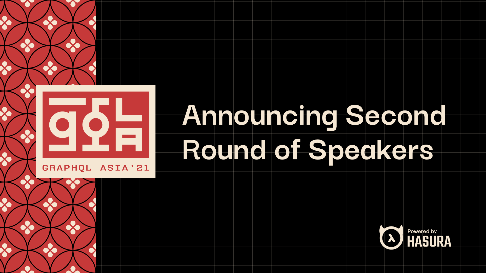 GraphQL Asia - Announcing Second Round of Speakers