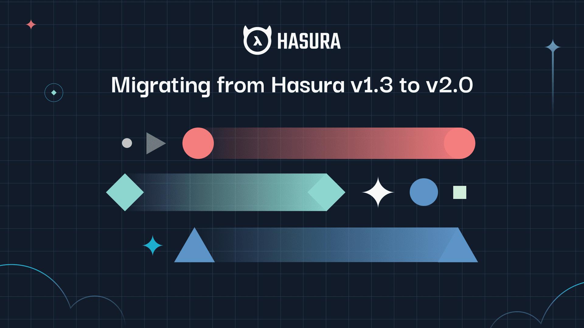 Migrating from Hasura v1.3 to v2.0