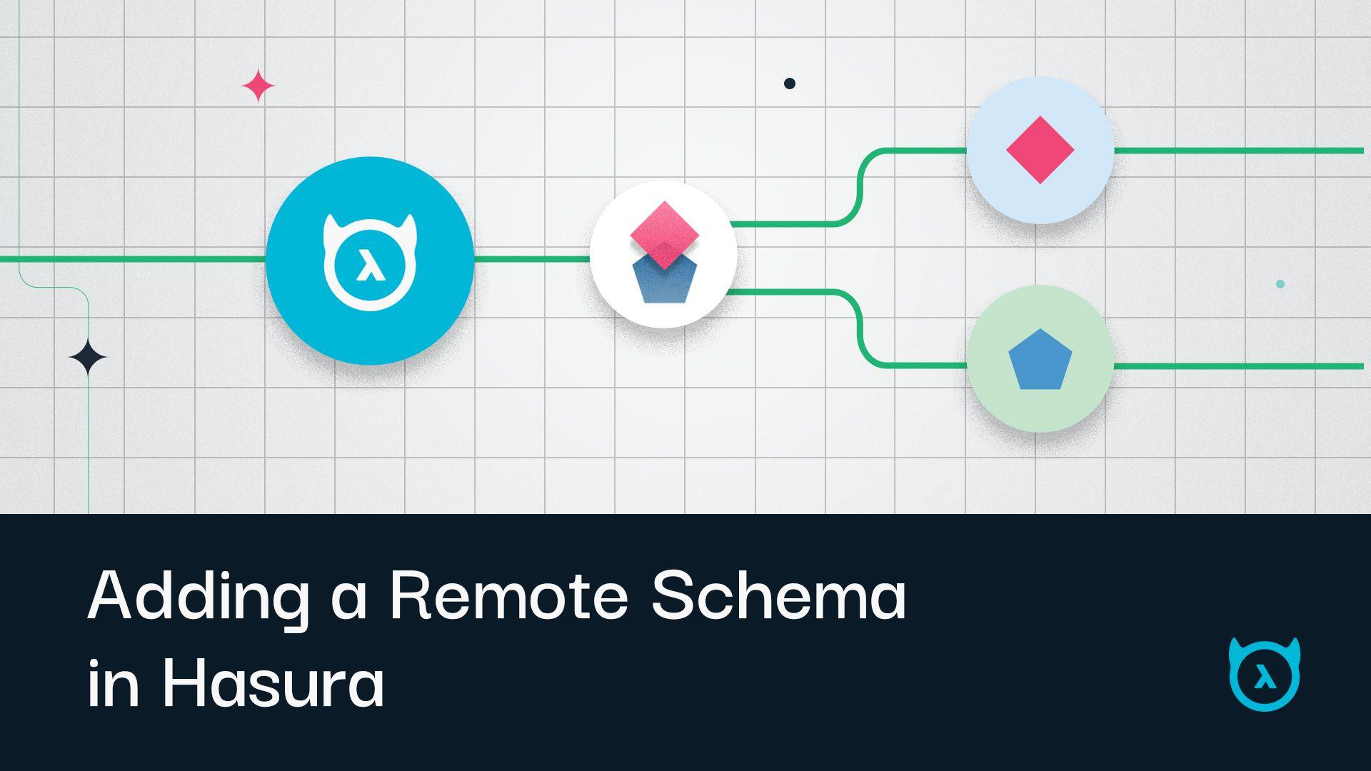 Remote Schema Joins