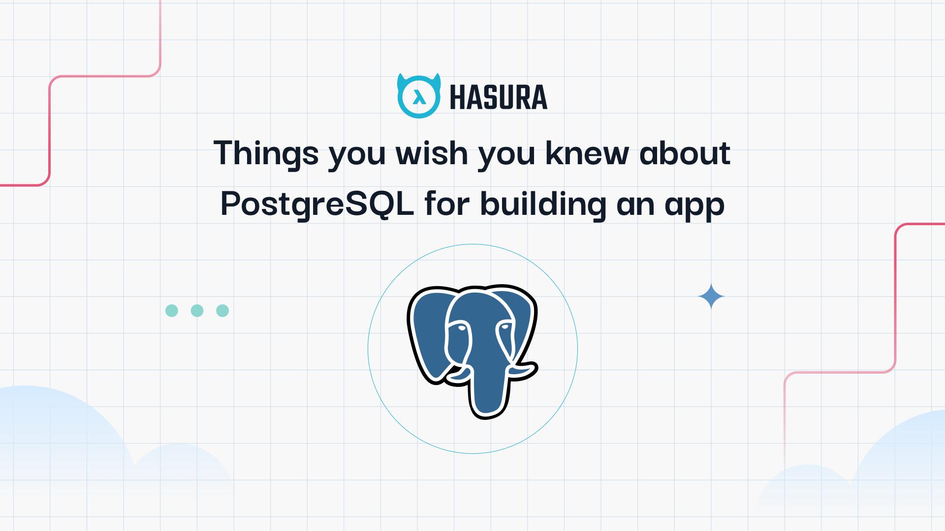 PostgreSQL Tricks