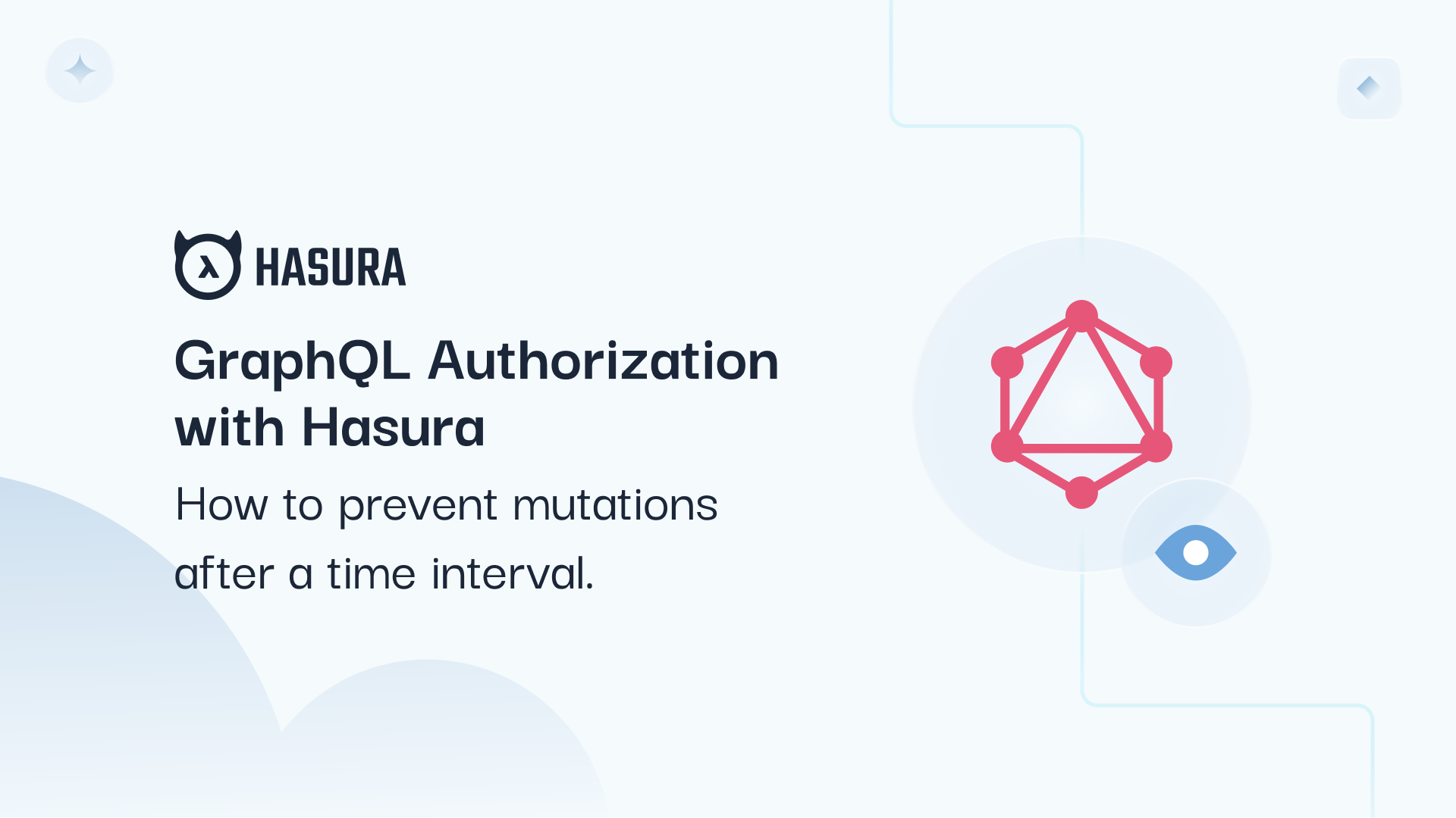 GraphQL Authorization with Hasura: How to prevent mutations after a time interval