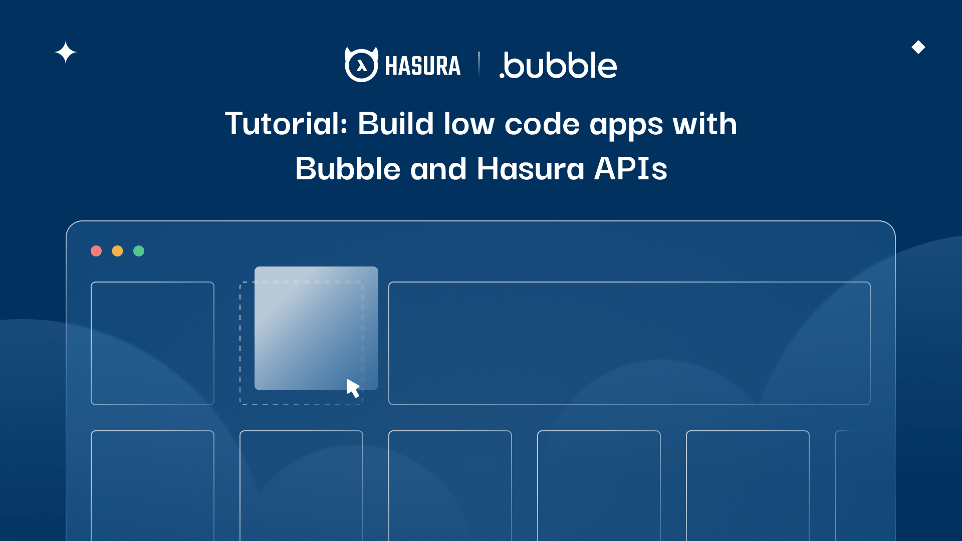 Tutorial: Build low code apps with Bubble and Hasura APIs