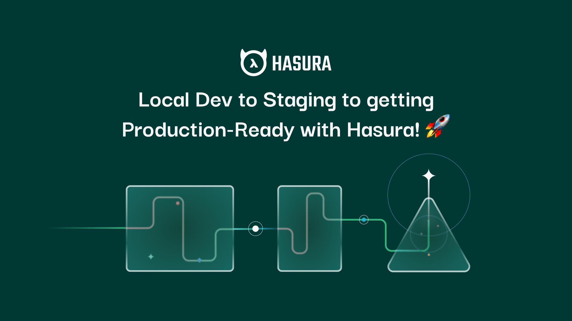 Local Dev to Staging to getting Production-Ready with Hasura! 🚀