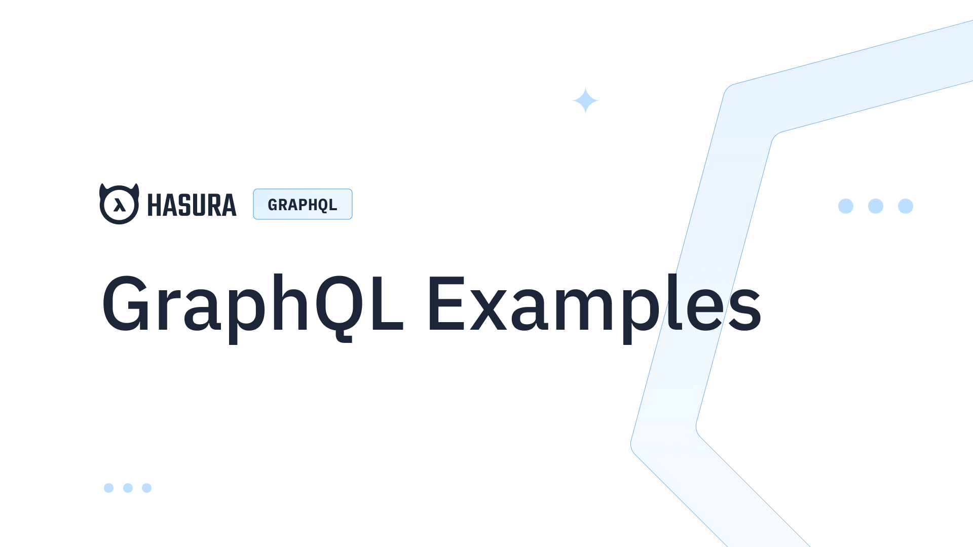 Modern GraphQL examples with strings, compilers, and SDKs