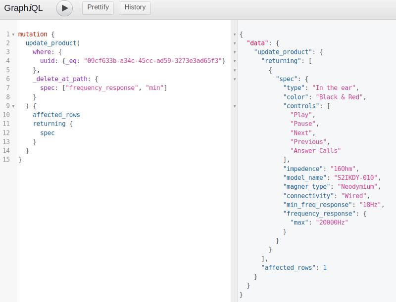 Postgres JSON and JSONB type support on GraphQL