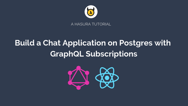 Building a realtime chat app with GraphQL Subscriptions