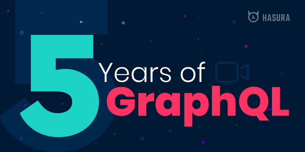 Five years of GraphQL 🎉
