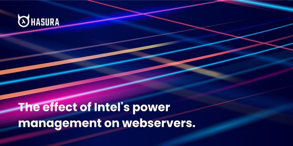 Effect of Intel's power management on web servers
