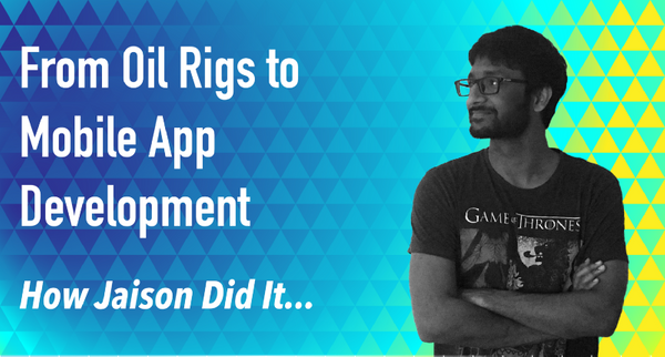 From working on oil rigs to heading mobile development at Hasura — Jaison Titus's story