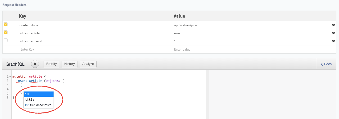 Setting default values for fields using role based column presets